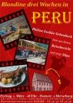 Flyer Lesung über Peru
