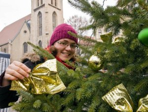 Weihnachtsbaumschmuck-Aktion